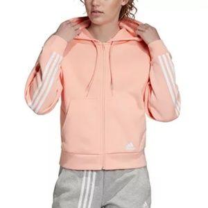 Adidas Must Have 3-Stripe Zip Hoodie Jacket